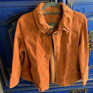 Lal Live A Little Corduroy Orange Jacket Button
